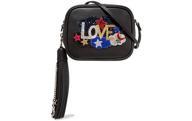 Saint Laurent blogger love bag