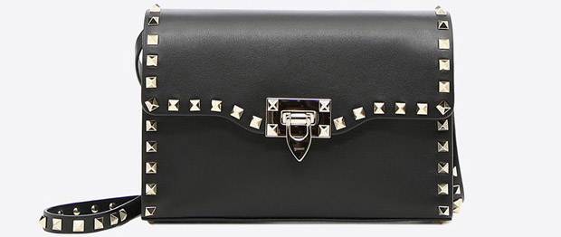 Valentino Rockstud small crossbody black