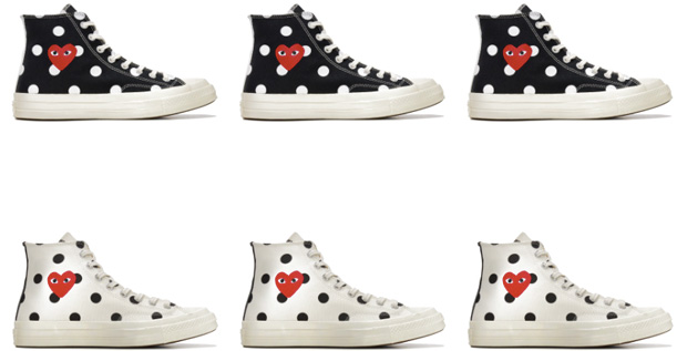 Comme des Garçons Play x Converse sneakers The Bag Hoarder