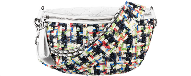 Chanel spring summer 2017 tweed fanny pack