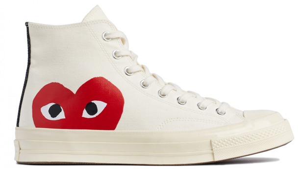 Comme des Garçons Play Converse sneakers high top white