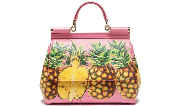 Dolce & Gabbana medium Sicily pineapple