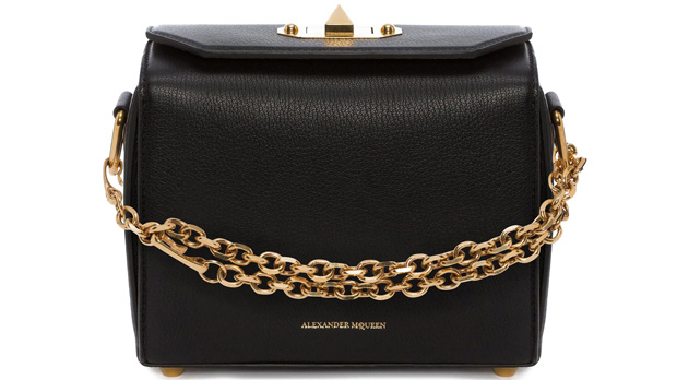 Alexander McQueen box 19 black