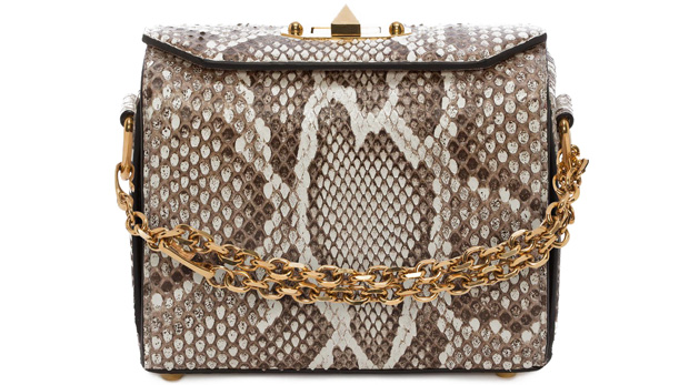 Alexander McQueen box 19 python