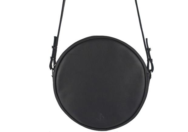 Atelier Judith van den Berg ronde tas zwart