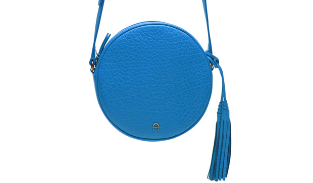 Etienne Aigner circle bag blue