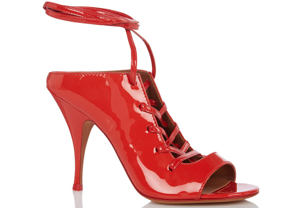 Givenchy Sandalette lakleer rood