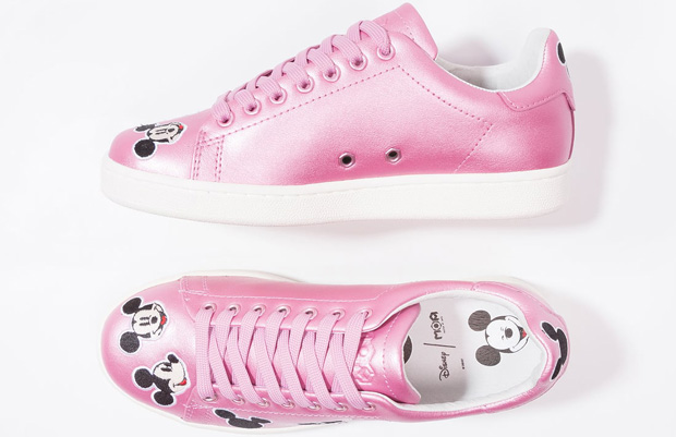 Master of Arts sneakers Mickey Mouse pink