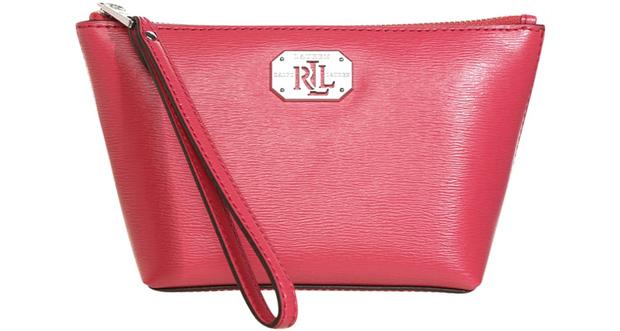 Ralph Lauren make-up case red