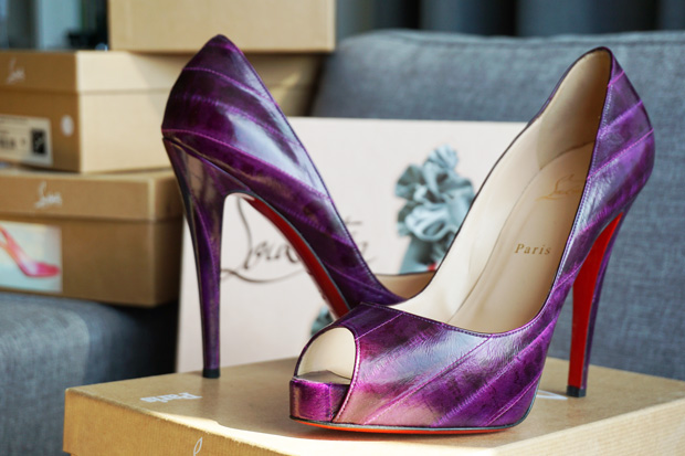 TBH Christian Louboutin collectie Very Prive 120 eel