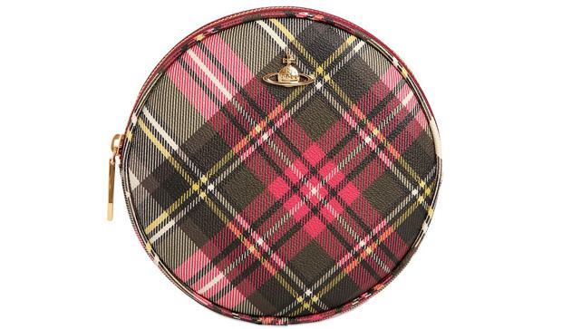 Vivienne Westwood circle bag tartan