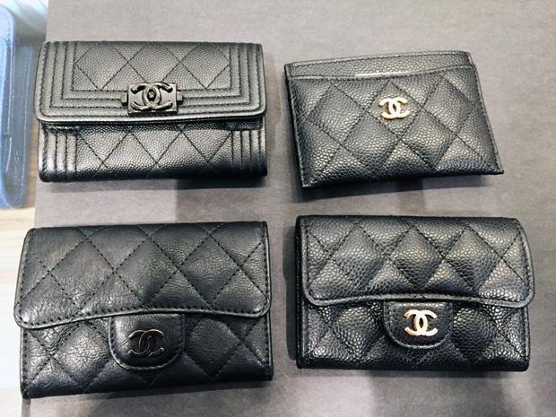 tbh plog Parijs Chanel cardholders
