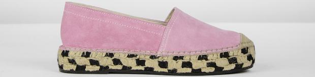 Fred de la Bretoniere x Yara Michels espadrilles millennial pink