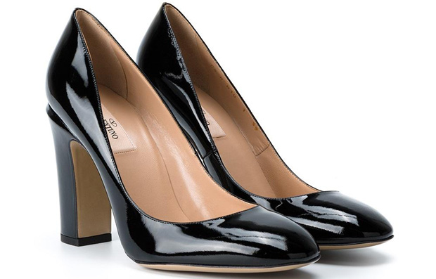 Valentino Tan-Go pumps black 105mm