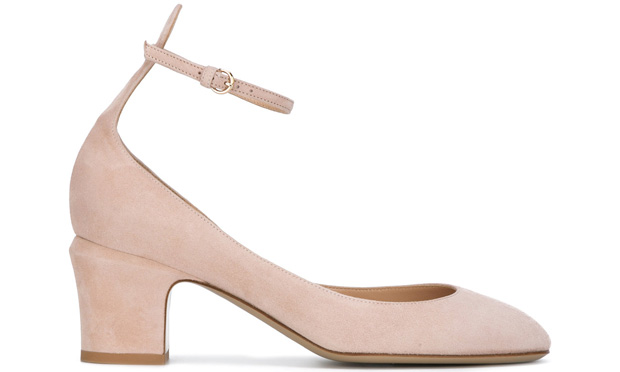 Valentino Tan-Go pumps pink nude 60mm