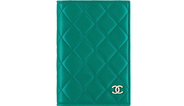 Chanel passport holder classic lambskin