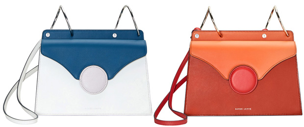 Danse Lente Phoebe bag blue white red orange