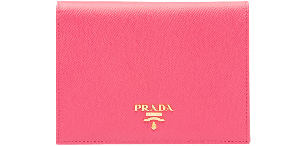 Prada passport cover pink