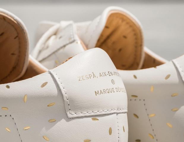 Zespà x Supakitch sneakers details