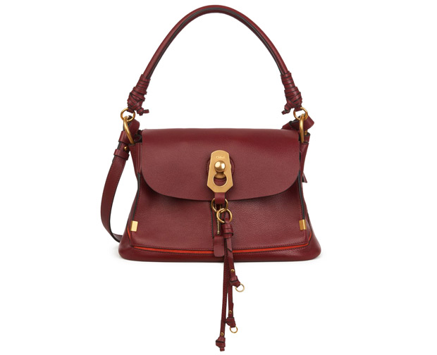 Chloé small Owen burgundy