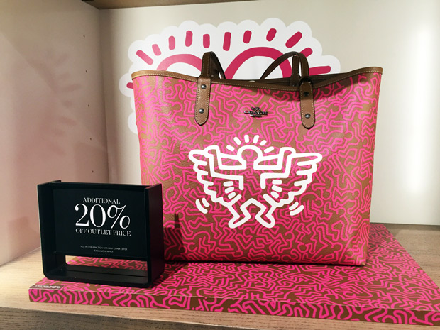 Coach Keith Haring outlet roermond