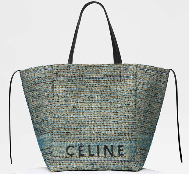 Céline winter 2017 Medium cabas shopper boucle