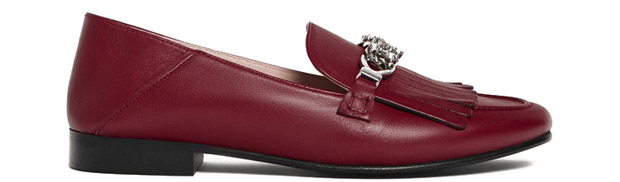 Uterqüe rode loafers