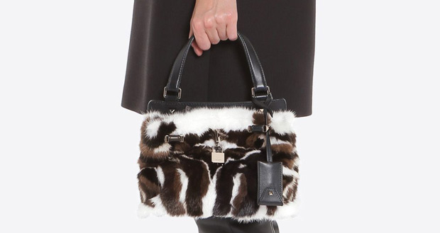Valentino Joylock small fur