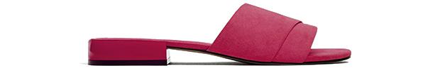 Zara slides roze