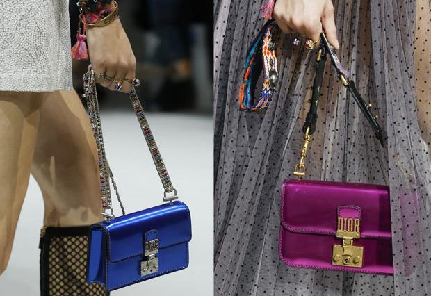 Christian Dior spring summer 2018 bags dioraddict