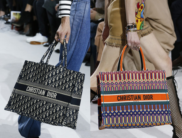 Christian Dior spring summer 2018 bags shoppers