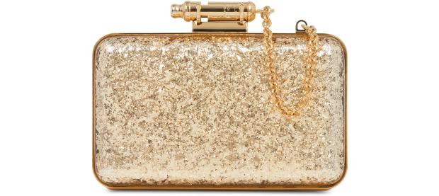 Sophie Hulme Whistle clutch glitter