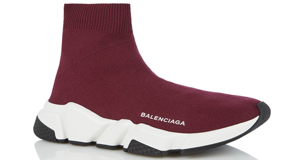Balenciaga Speed runner burgundy