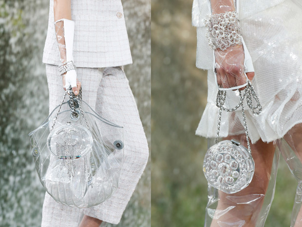 Chanel spring summer 2018 clear pvc bag