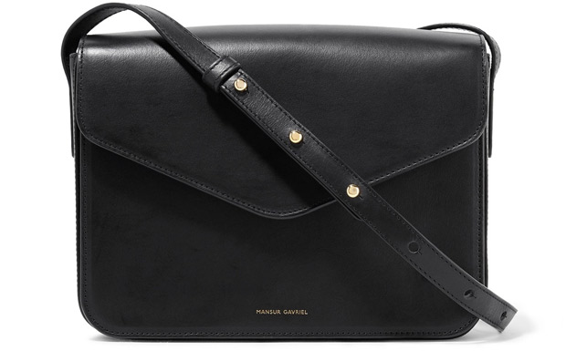 mansur gavriel envelope bag black