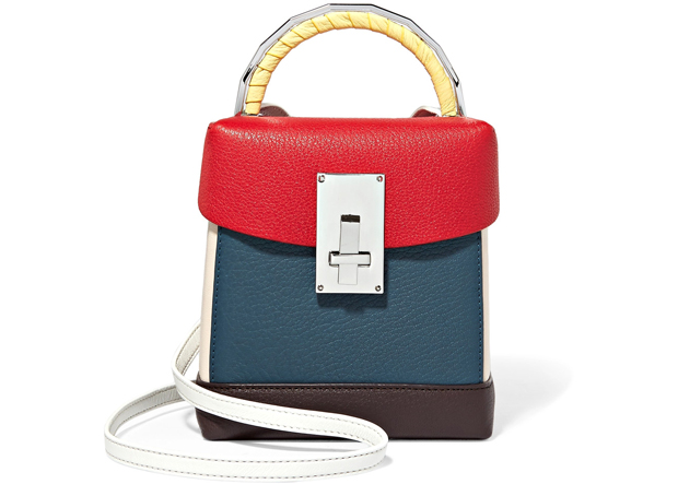 The Volon lunchbox red blue