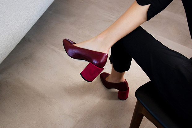 Dear Frances Nina pumps bordeaux