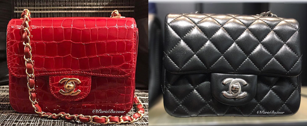 Chanel Square Mini ParisBazaar