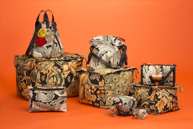 Loewe William Morris meets punk collectie