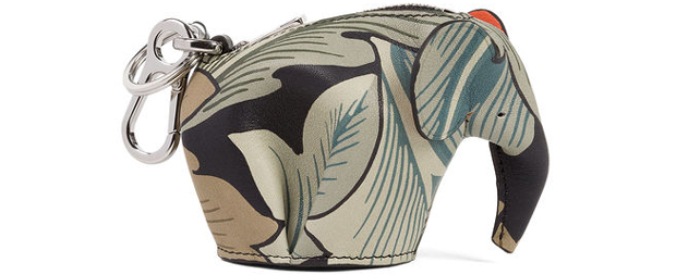 Loewe William Morris meets punk Elephant pouch