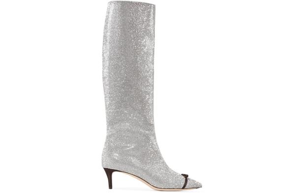 Marcp Di Vicenzo glitter boots