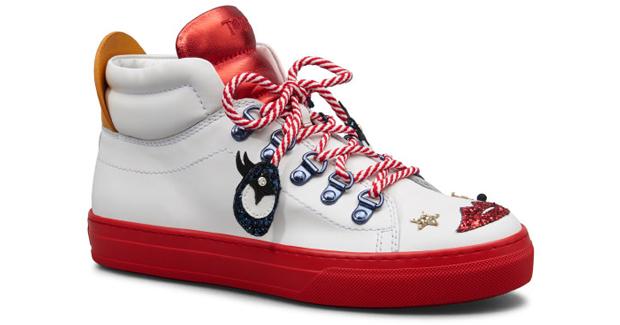 Tod's Circus x Anna Dello Russo sneakers