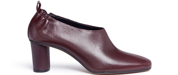 Gray Matters Micol plum ankle boots