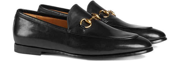 Gucci Jordaan loafers black