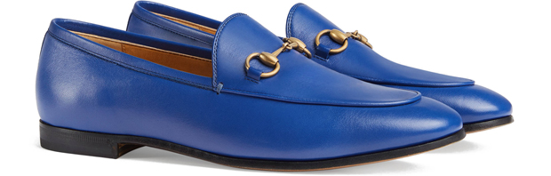 Gucci Jordaan loafers blue