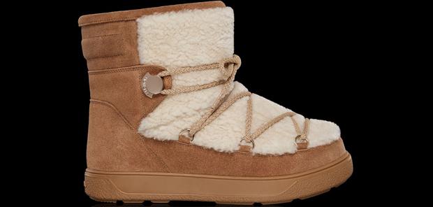 Moncler boots beige