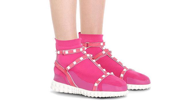 Valentino bodytech rockstar sneakers pink