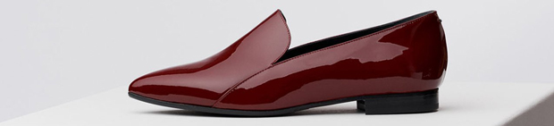 Aeyde Viola wine loafers