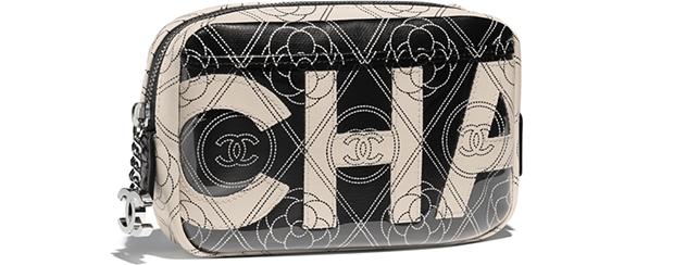 Chanel spring summer 2018 camera case logo