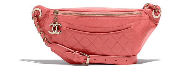 Chanel spring summer 2018 fannypack pink